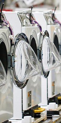 fabriek Miele wasmachines
