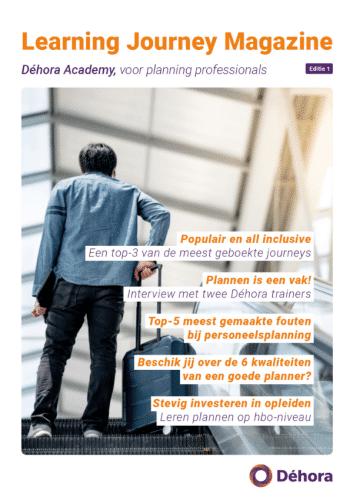 Dehora learning journey magazine voor planners